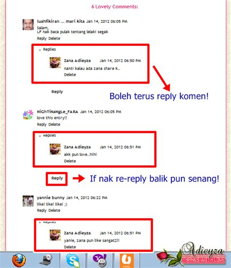 blogger comment tutorial adieyza tutorial embedded comment di blog