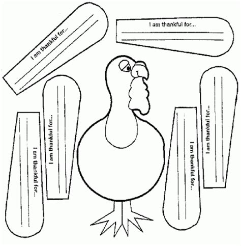 thankful turkey craft template thankful turkey templates happy easter thanksgiving 2018