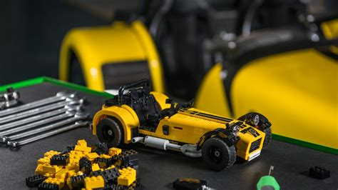 these photos of the lego caterham seven will make you feel