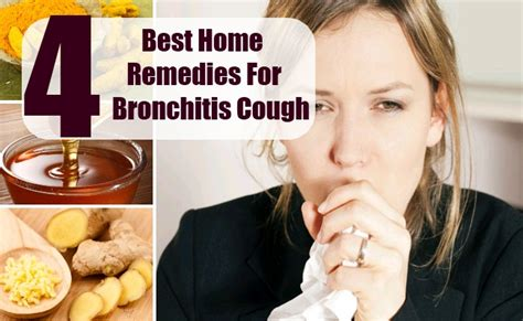 home remedies for bronchitis cough remedies for