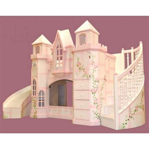 Castle Bunk Bed With Slide 17 Best Images About Cool Things On Artificial Plants Castle Bed And Princess Castle