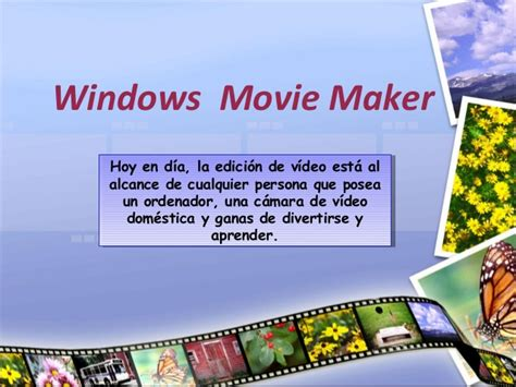 tutorial edição videos windows movie maker windows movie maker tutorialclase1