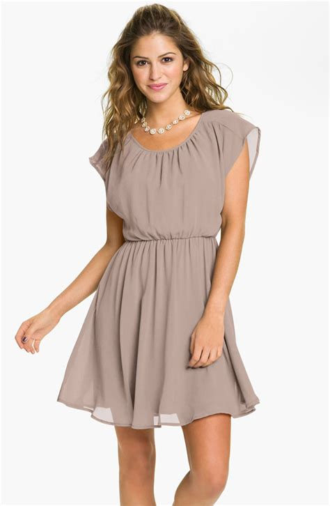 Light Brown Dress by Brown Bridesmaid Dresses Bitsy