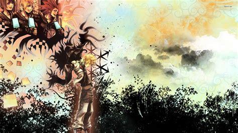 kingdom hearts roxas wallpapers widescreen  wallpaper hd