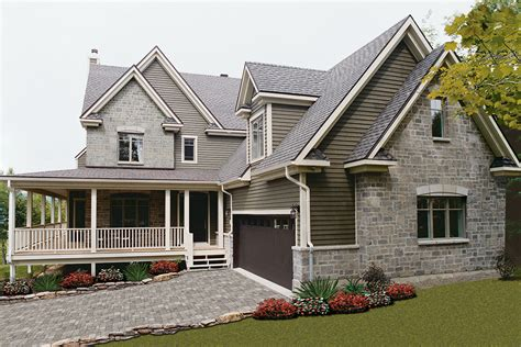 farmhouse style house plan 4 beds 2 5 baths 2376 sq ft