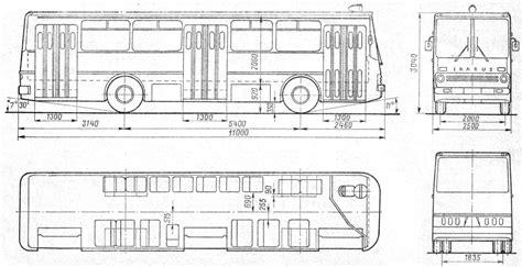 ikarus 260 blueprint free blueprint for 3d modeling