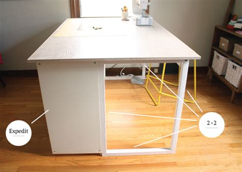 Sewing Cutting Table by Custom Diy Sewing Cutting Table Noodlehead