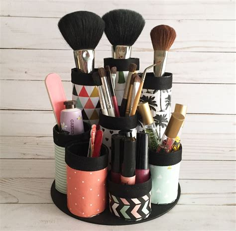 diy makeup storage organizer diy makeup organizer made from recycled paper towel tubes