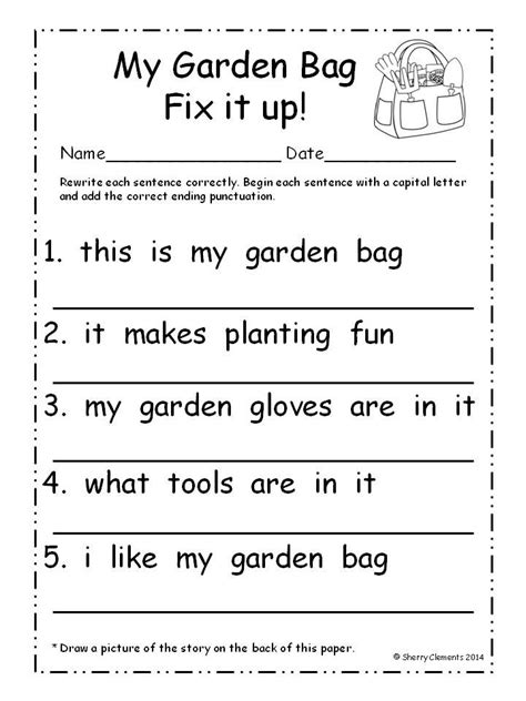 sentence pattern quiz english mistakes 17 best images about morning work on pinterest initials