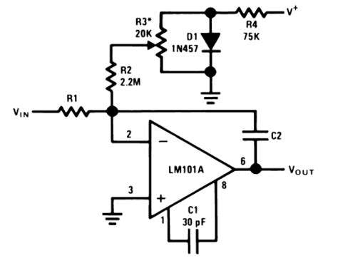 current integrating circuit op circuit collection basic circuits audio lifier circuits