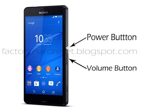 reset android sony xperia z3 snippets of internet show how to factory hard reset sony