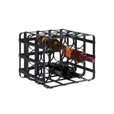 Wine Rack Home Depot by Home Decorators Collection 16 In W Wine Rack In Belize
