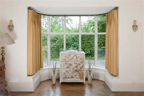 how do you put curtains on a bay window why will you like the bay window curtains home and textiles