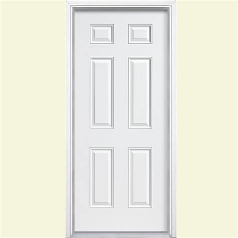 30 X 80 Exterior Door With Window 30 X 80 Steel Doors Front Doors Exterior Doors The Home Depot