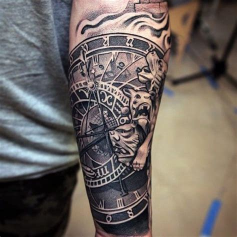 lower arm tattoos for men lower arm sleeve creativefan