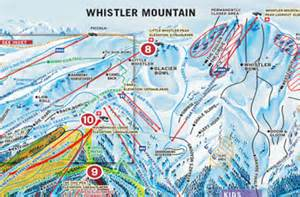 whistler canada ski map whistler maps map of whistler getting to