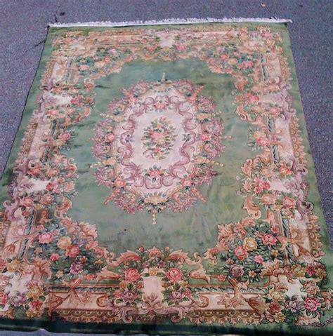 tappeti cinesi prezzi tappeto cinese verde floreale brocante mollard