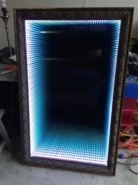 infinity mirror computer how to make an infinity led mirror led mirror and infinity