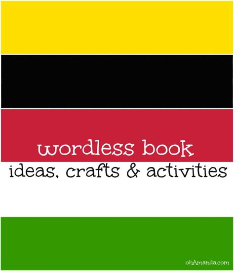 wordless picture book activities 1000 images about wordless book on crafts