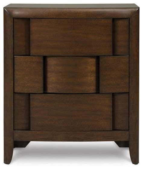 bedside drawers twilight 3 drawer nightstand modern nightstands and bedside tables by hayneedle