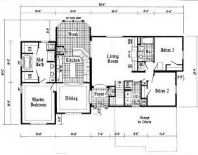 Basic Ranch Floor Plans basic ranch house plans the stratford floor plan
