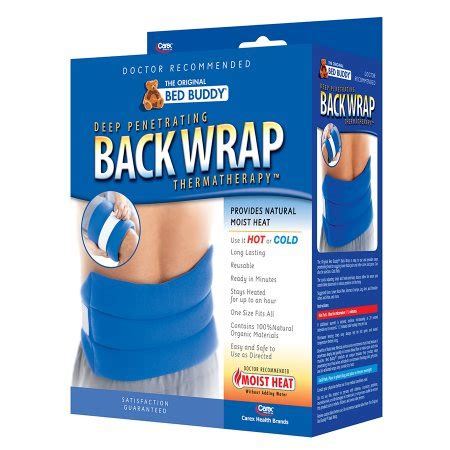 bed buddies bed buddy hot cold therapy back wrap walgreens