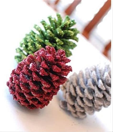 pinecone crafts decorations