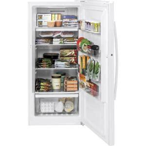ge garage ready  cu ft frost  upright freezer