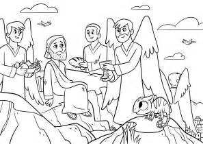 coloring pages jesus tempted desert view more coloring sheets coloring page jesus