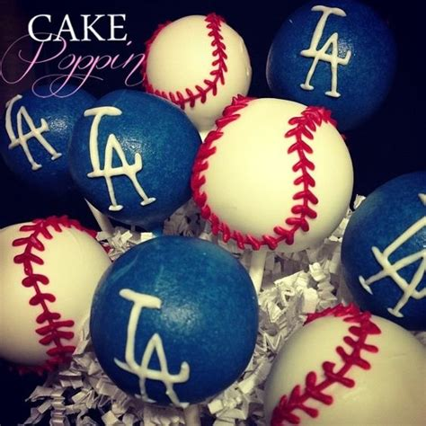 Cake Decorating Los Angeles by Baseball Cake Pops Dodgers Baseball And Baseball Cakes On