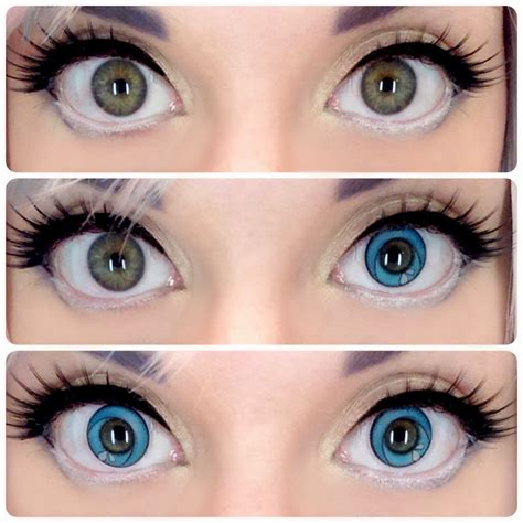 cool colored contacts cool contact lenses anime www pixshark images