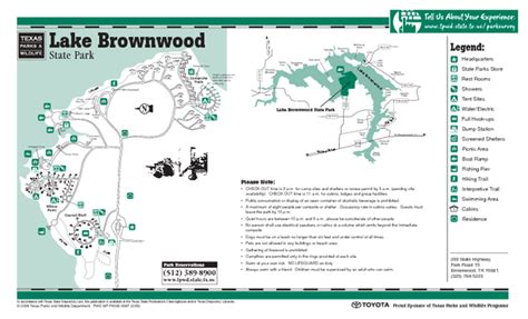 where is brownwood texas on the map lake brownwood texas state park facility location and trail map lake brownwood texas mappery