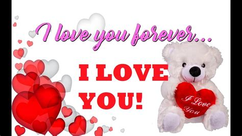 I You So i you so much forever message