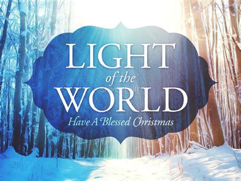 light   world christmas powerpoint