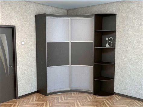 corner bedroom cupboard corner wardrobe closet and corner shelves design for small
