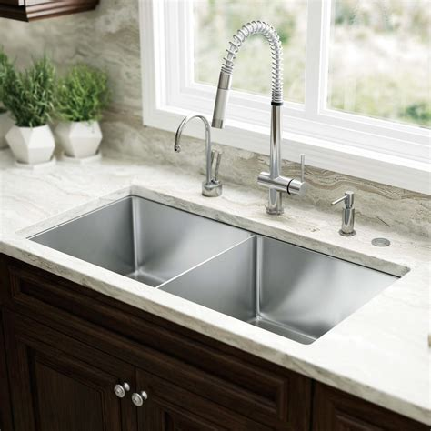 Stainless Steel Drop In Kitchen Sinks The Homy Design Drop In Kitchen Sinks