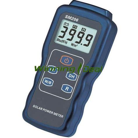 Measure Of Light precision solar power meter light intensity measurement