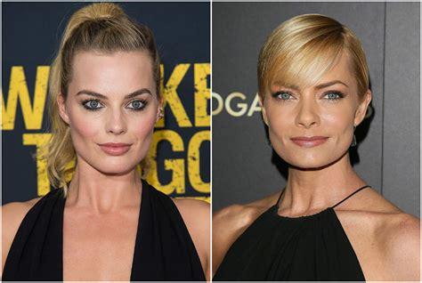 margot robbie jaime pressly 54 celebrities who look so alike it s crazy twinzies