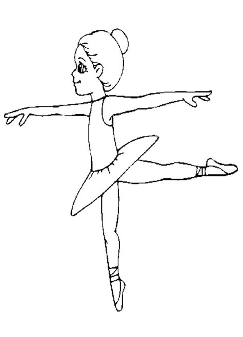 ballet coloring pages dance coloring pages for kids coloring home