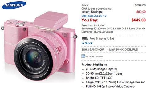 Kamera Mirrorless Samsung Nx1000 samsung nx1000 กล อง mirrorless ระด บล างเร มวางตลาดแล ว