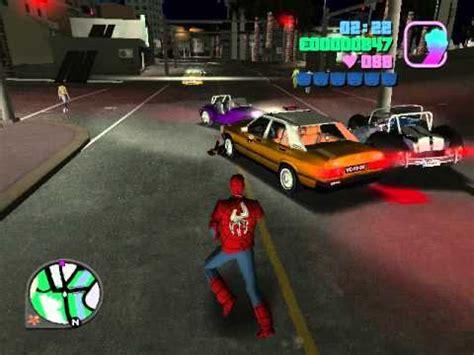 gta vice city spiderman mod game free download gta vice city spiderman mod and link youtube