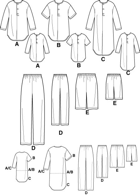 nightshirt pattern simplicity 9900 men s nightshirt sewing pattern