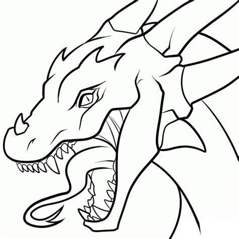 dragon head transparent lineart by dawnieda on deviantart