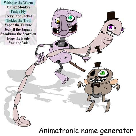 fan base names generator my fnaf ocs name generator by kozabanana on deviantart