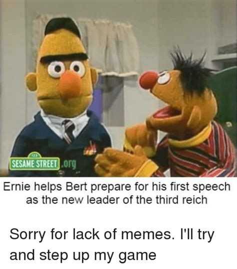 Bert And Ernie Meme - search sesame street meme memes on me me