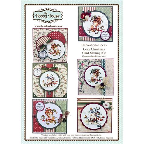 card kits uk the hobby house cosy card kit uk