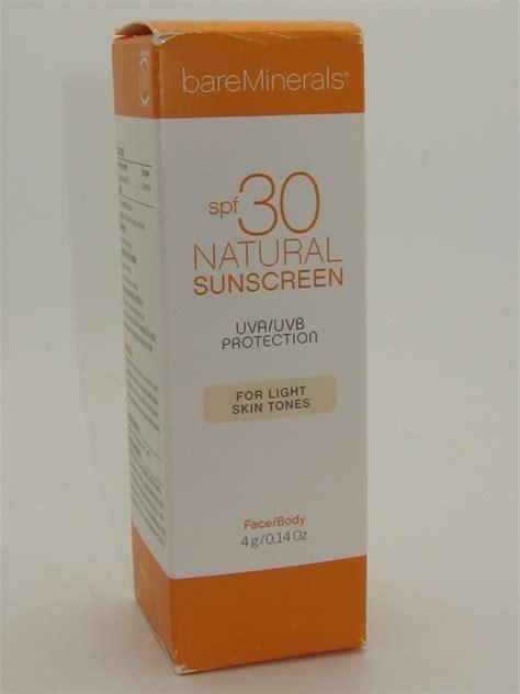 Bareminerals 7 Day Detox Reviews by Bare Escentuals Bare Minerals Spf 30 Sunscreen