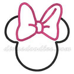 minnie mouse head template joy studio design gallery design