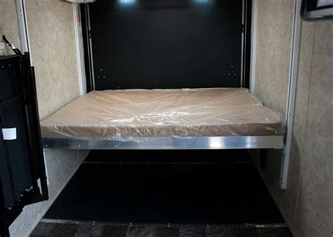 happijac bed lift optional double bunk mirage trailer