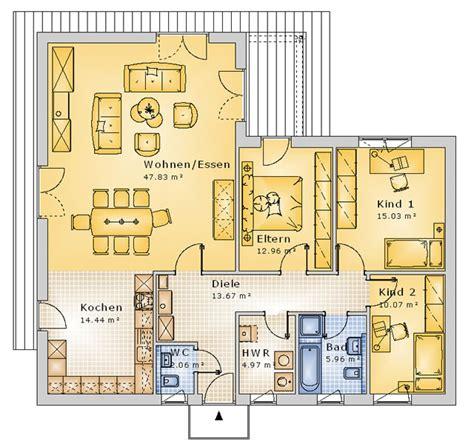 4 Zimmer Bungalow Grundrisse by Grundriss Bungalow 4 Zimmer 120 Qm Emphit
